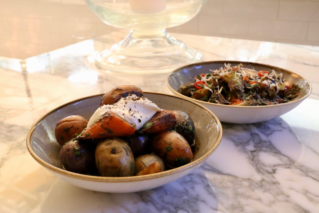 Steakhouse side dishes at Marble toronto