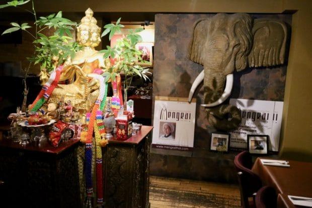 Step inside Mengrai Thai restaurant in Toronto.