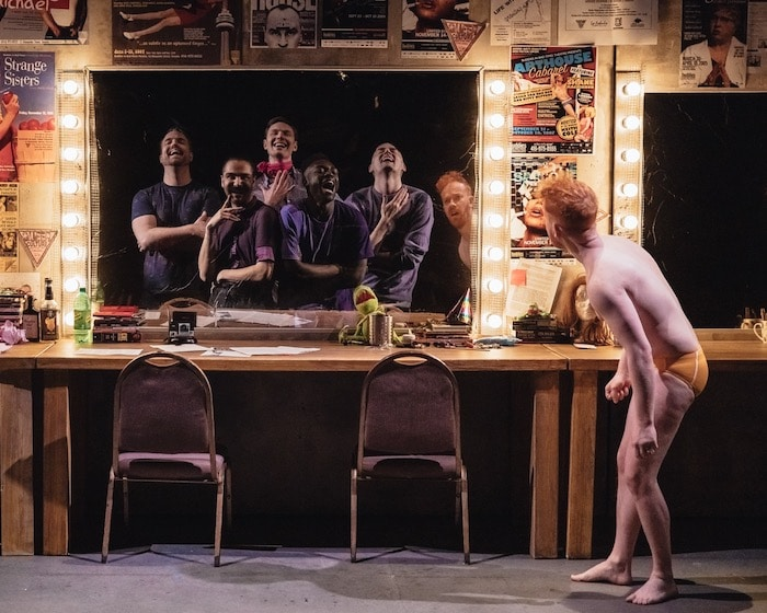 Shove It Down My Throat is a gay play at Buddies in Bad Times Theatre in Toronto.