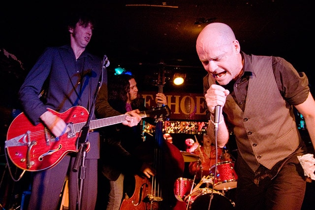 Live Music in Toronto: Gord Downie of the Tragically Hip at Horseshoe Tavern.