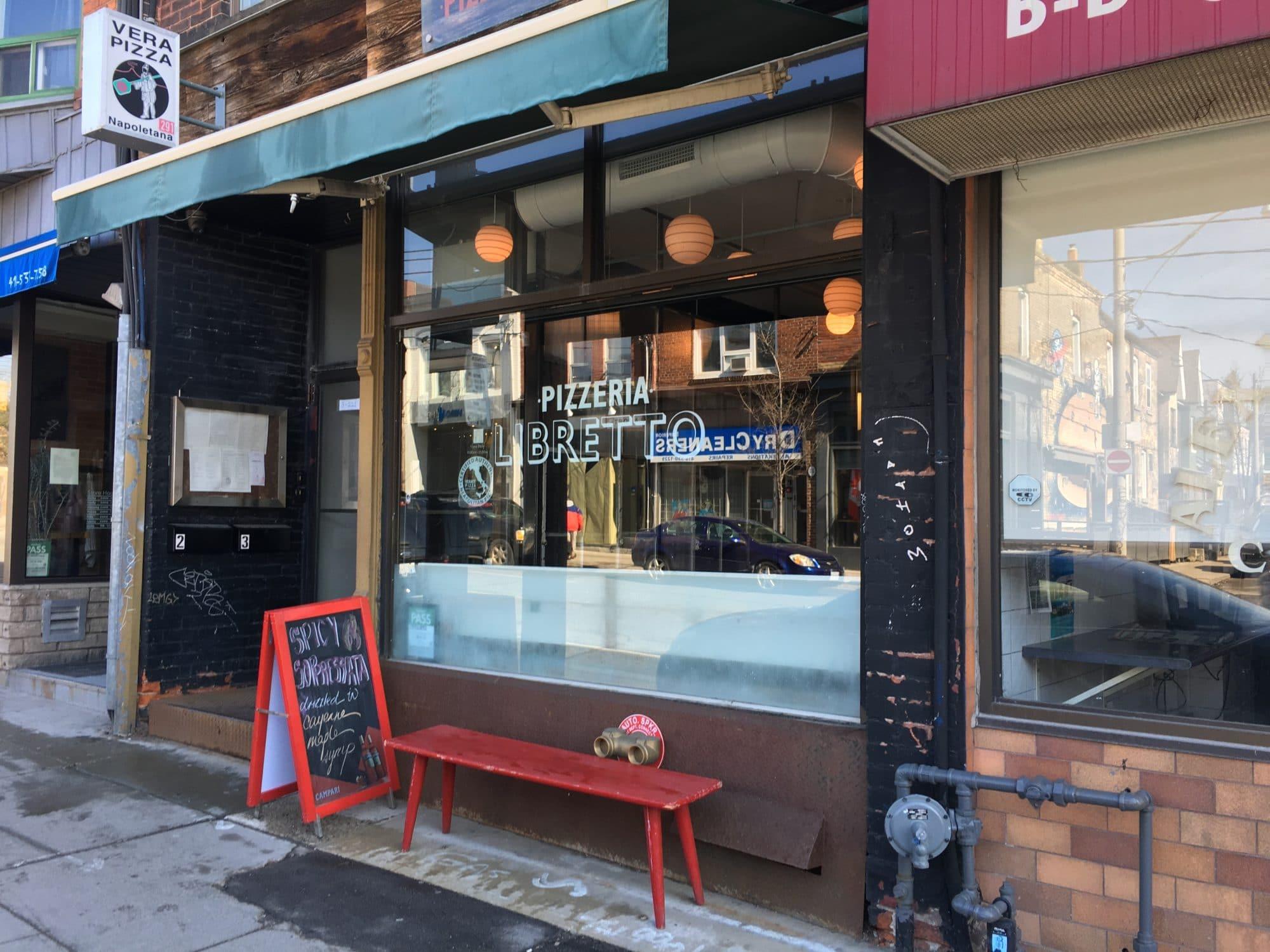 Ossington Restaurants: Pizzeria Libretto is the neighbourhoods OG pizza place.