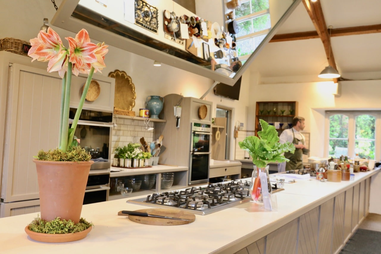 Newlywed couples keen to host a dinner party should book a stay at Ballymaloe Hotel.