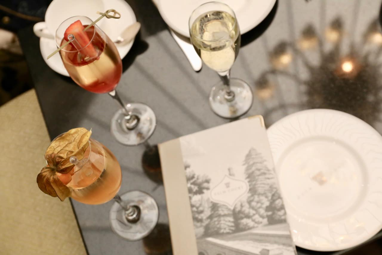 Begin your Balmoral Hotel Afternoon Tea service with a celebratory champagne cocktail.