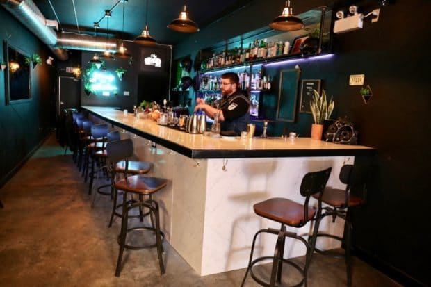 Step inside Bar Stray in Toronto's Little Italy.