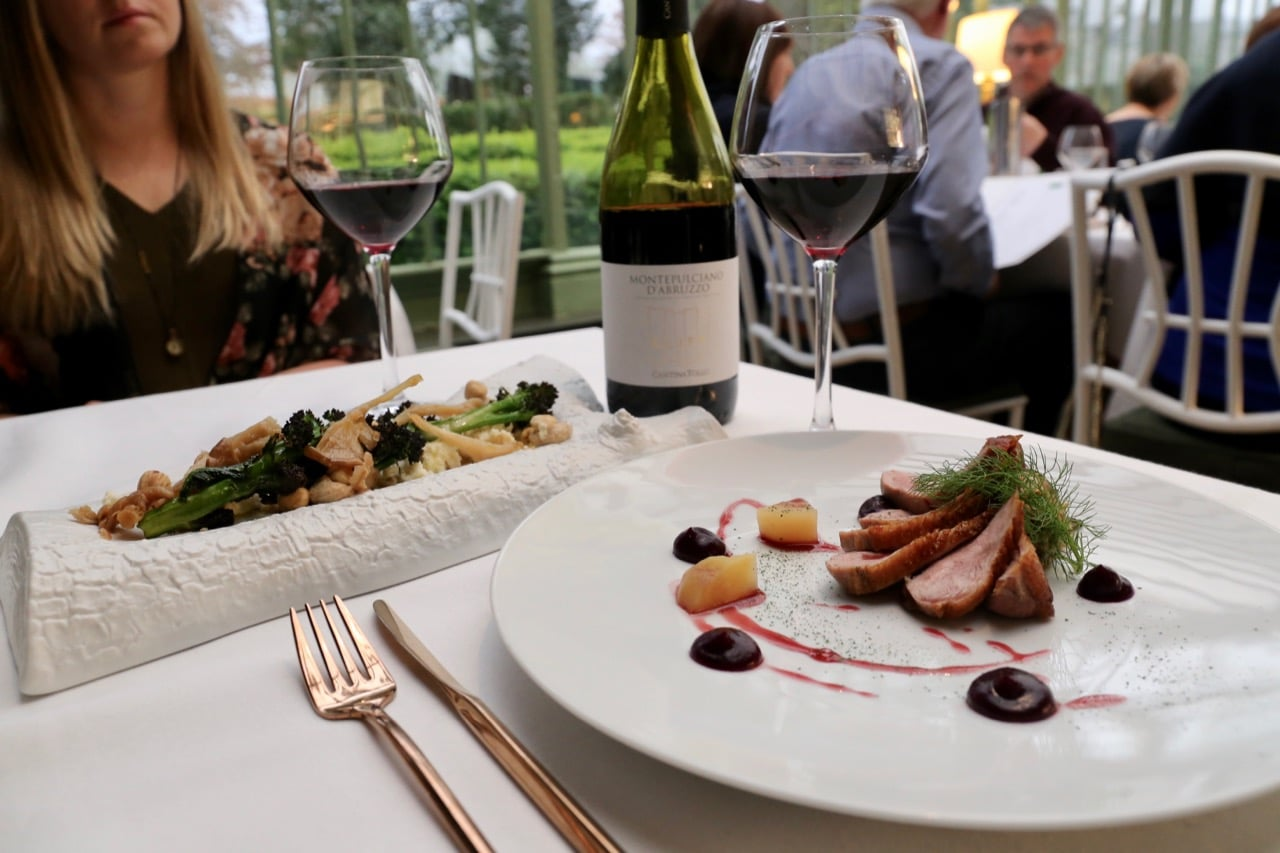 Treat guests to award-winning fine dining at your Cliff at Lyons Wedding.