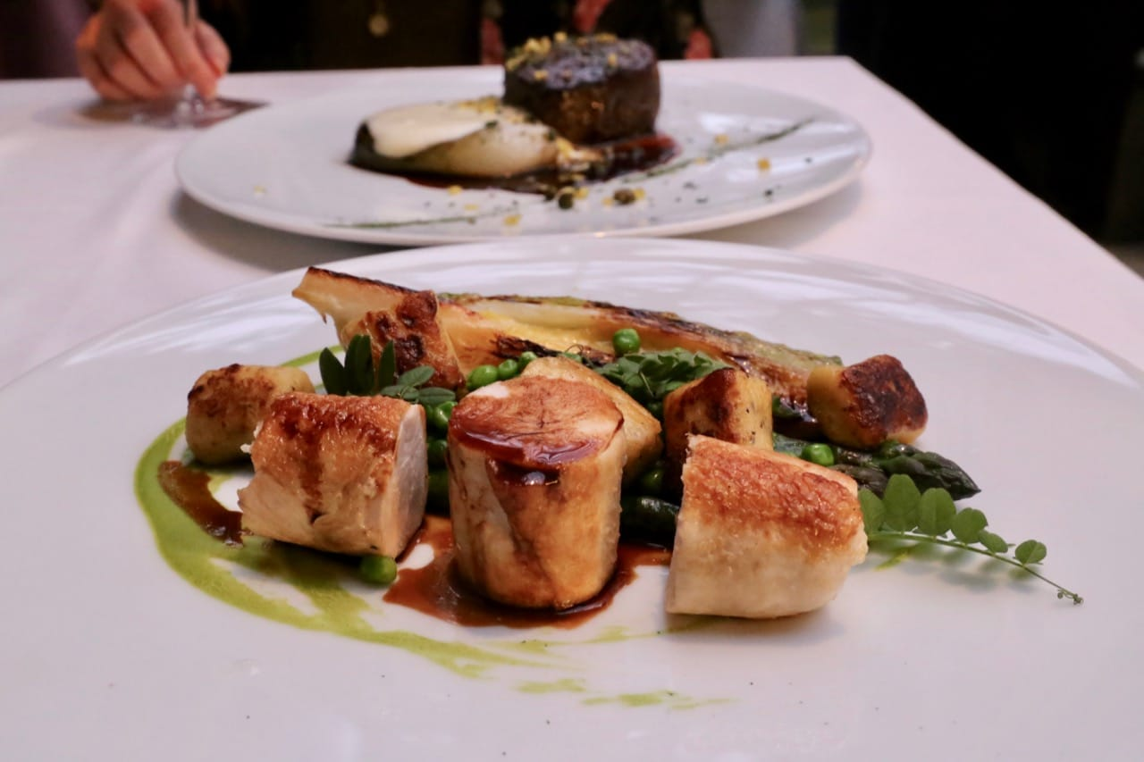 The culinary team focus on celebrating local Irish producers.