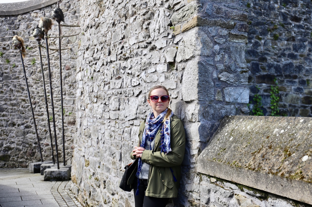 Elizabeth Fort is free to visit and offers panoramic views over downtown Cork.