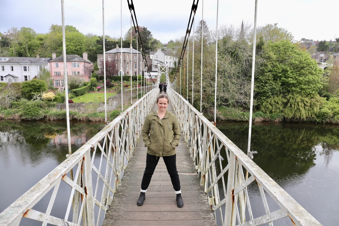 Skip across Cork's quiet river and discover Fitzgerald Park.
