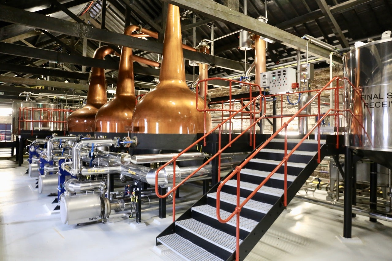 Enjoy a visit to Jameson's new state-of-the-art Microdistillery.