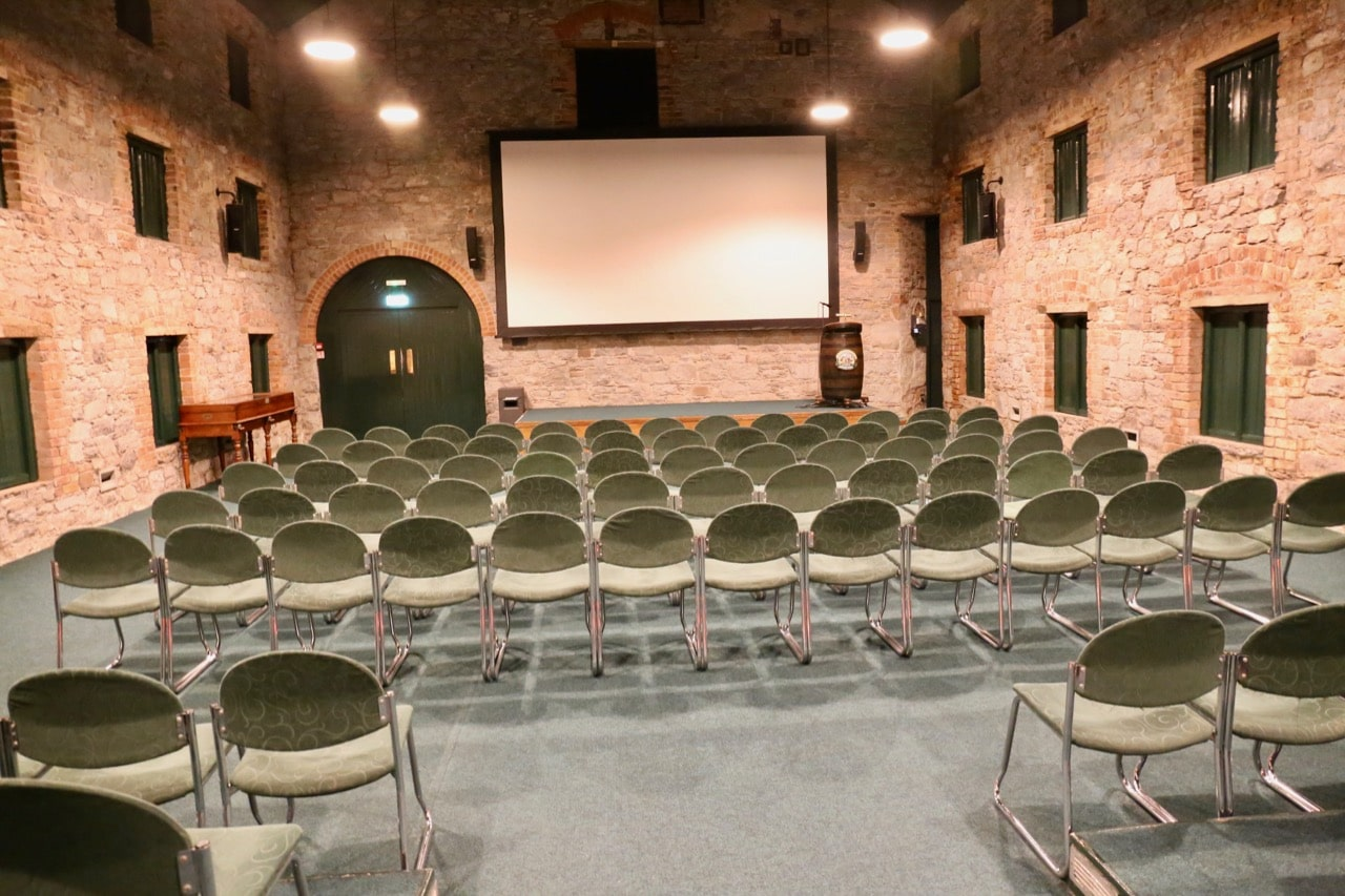 Our Jameson Distillery Tour begins in a theatre, which screens a short documentary about the history of Midleton Distillery.