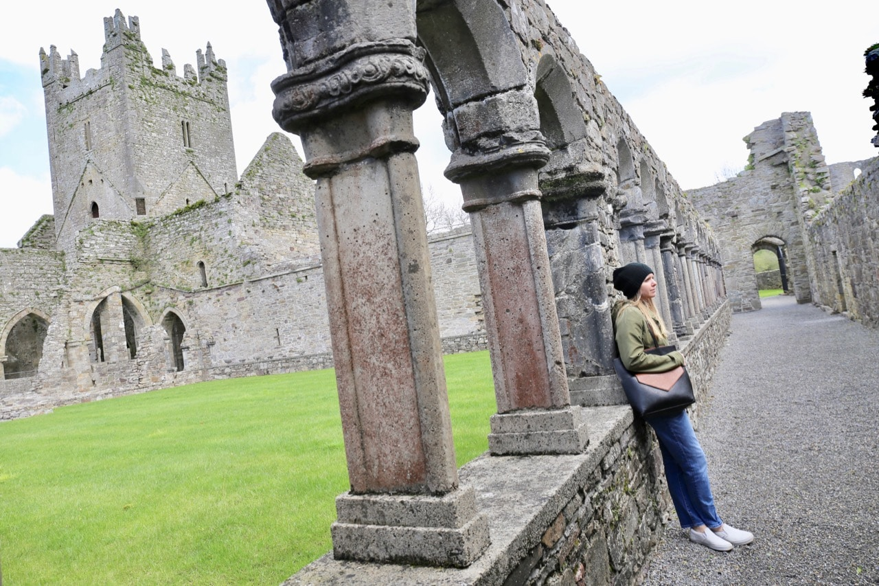 Things to do in Kilkenny: Jerpoint Abbey is an ancient ruin located just south of the city.
