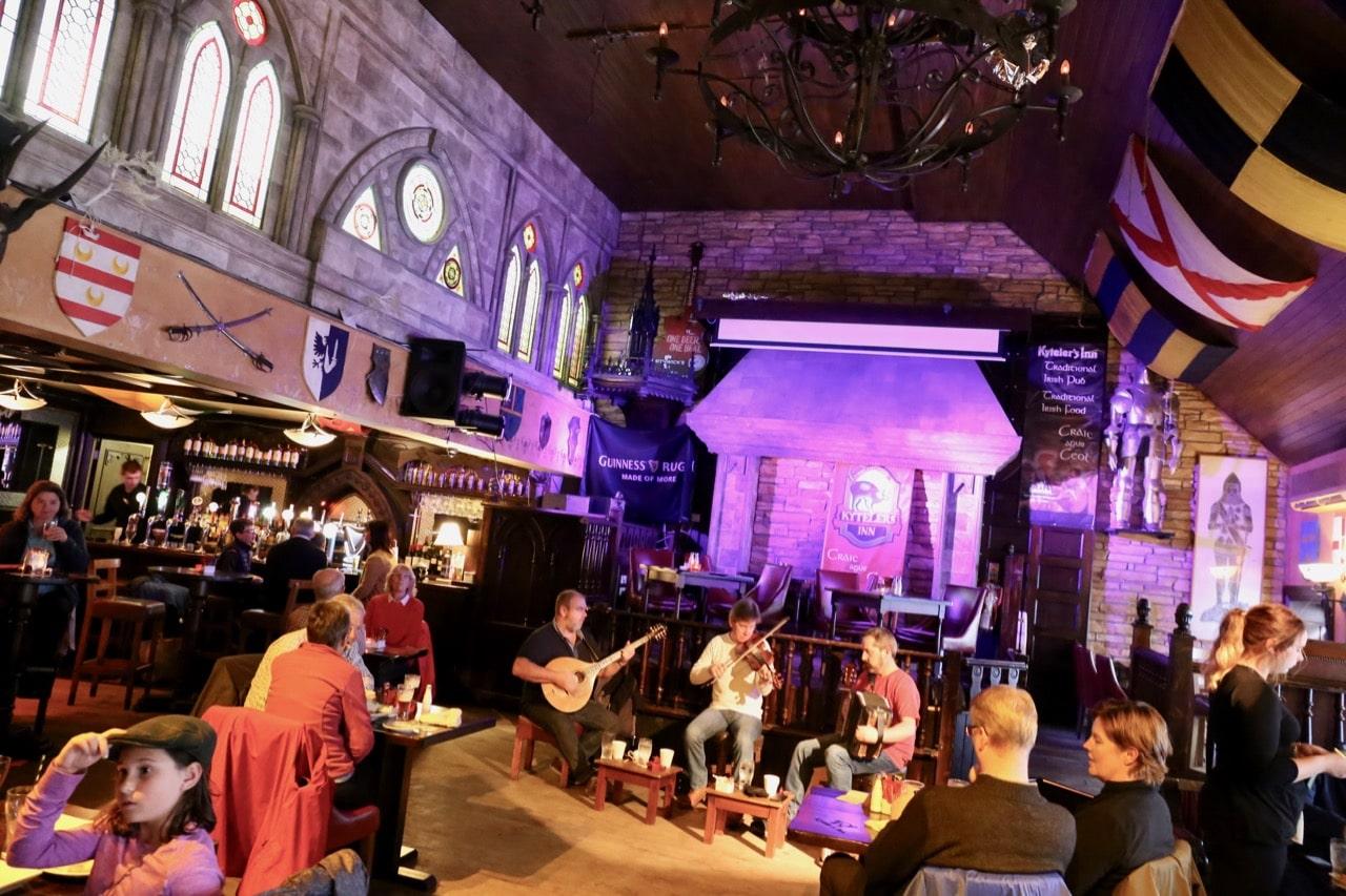 Things to do in Kilkenny: Enjoy an Irish feast with live folk music at Kyteler's Inn.