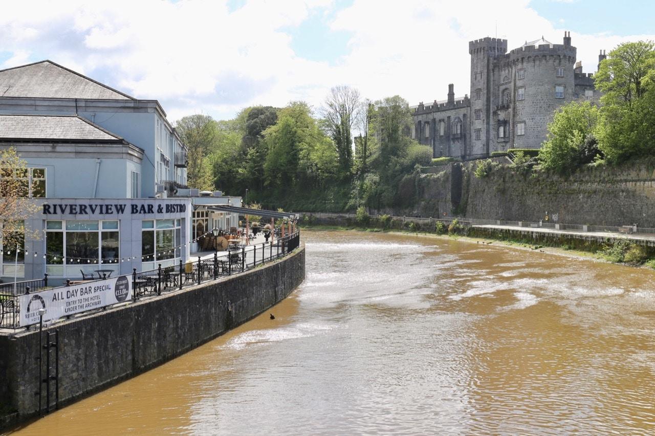 Things to do in Kilkenny: Enjoy a bike ride, walk or al fresco feast on the River Nore.