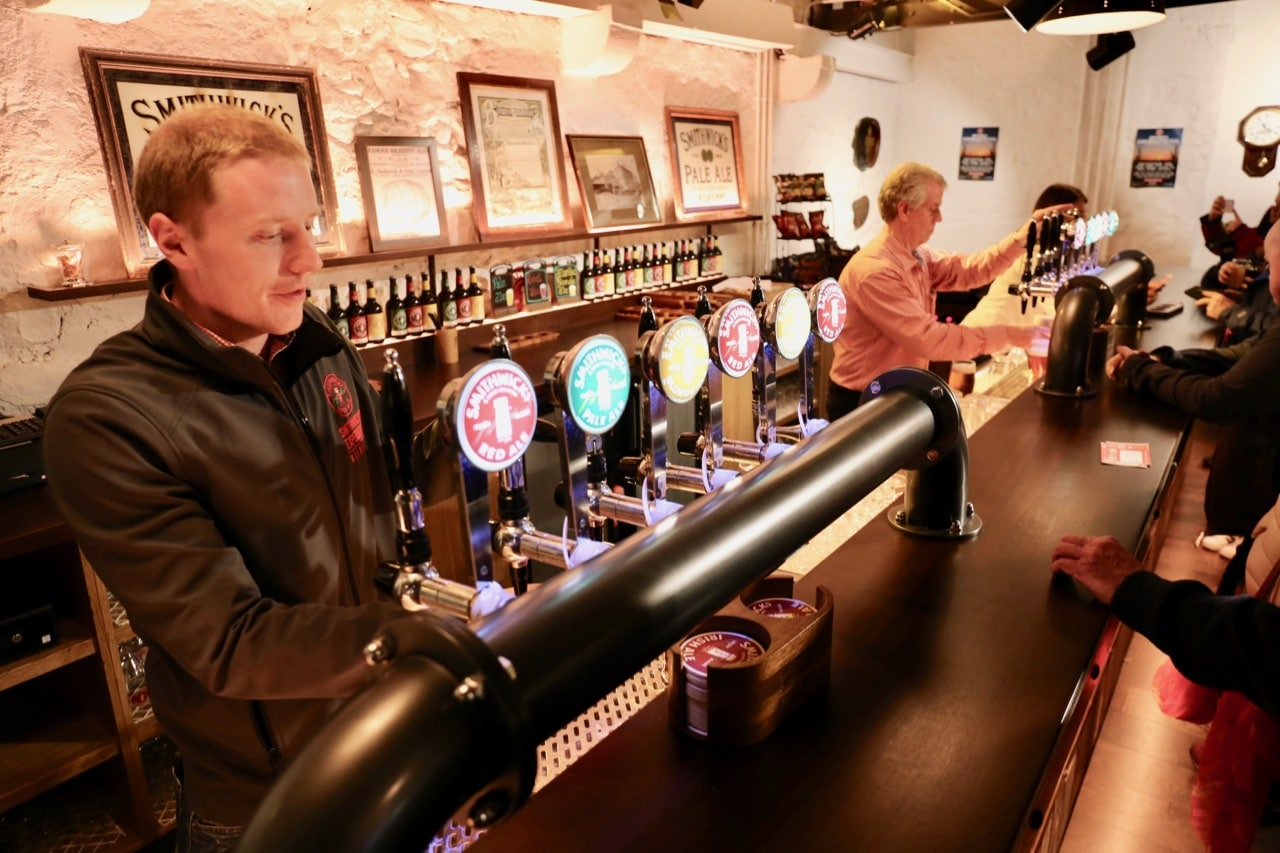Things to do in Kilkenny: Enjoy a tour and beer tasting at Smithwick's Experience.