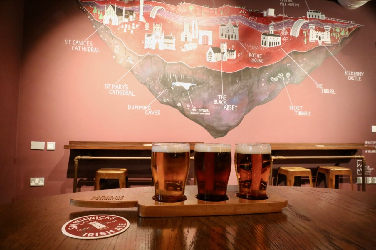 We suggest sampling a paddle of three ale's at the Smithwick's Experience Bar.