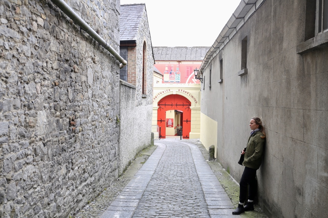 The entrance to The Smithwick's Experience, Kilkenny's best brewery tour.