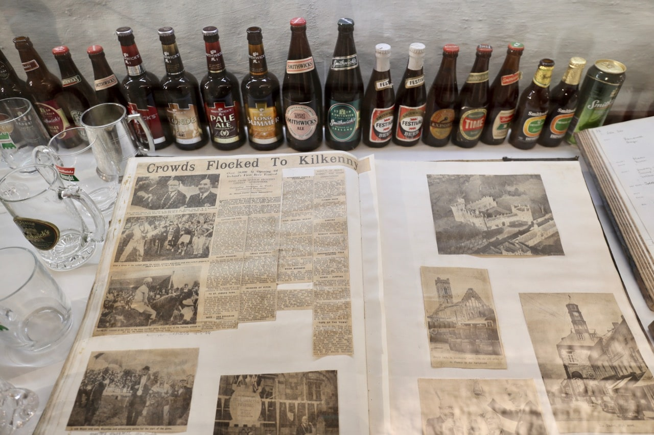 Review Kilkenny's brewing history while waiting for your Smithwick's Experience to begin.