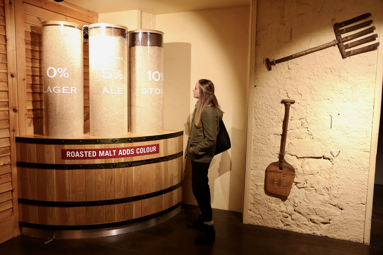During the Smithwick's Experience visitors learn about the beer making process.