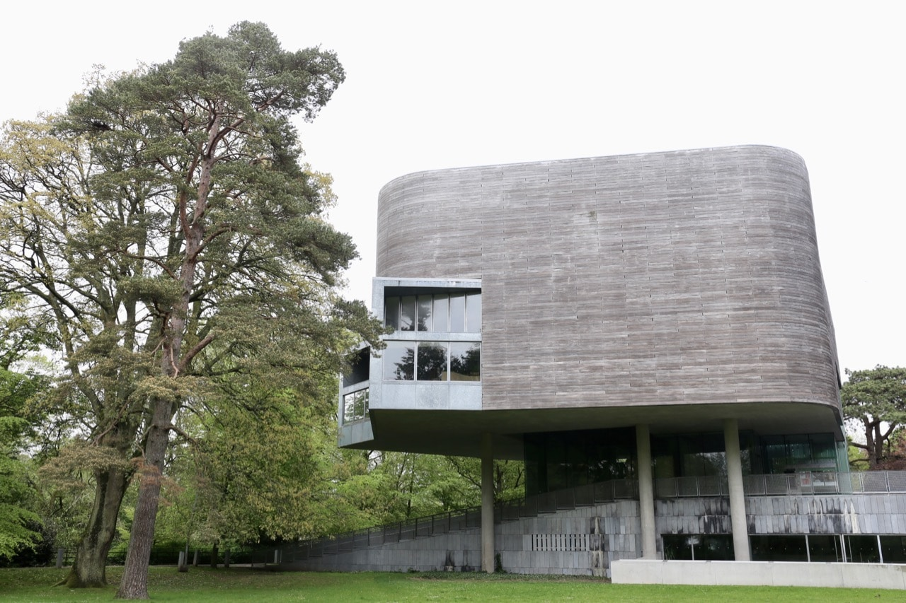 Stare up at one of Ireland's modern architectural icons, The Glucksman at University College Cork.