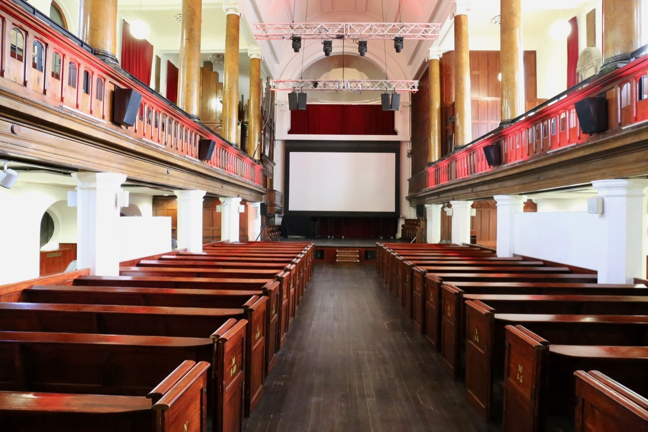 Things to do in Cork: Enjoy a movie night at Triskel Arts Centre.