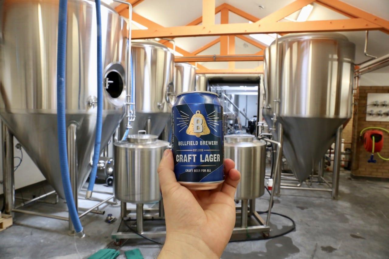 Bellfield Brewery specializes in gluten-free craft beer.