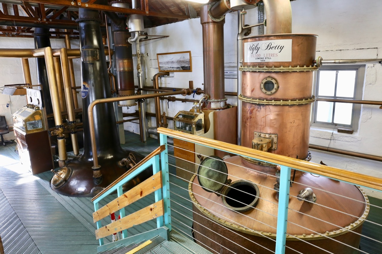 Of all the Islay Distilleries, Bruichladdich is the only brand producing both whisky and gin.