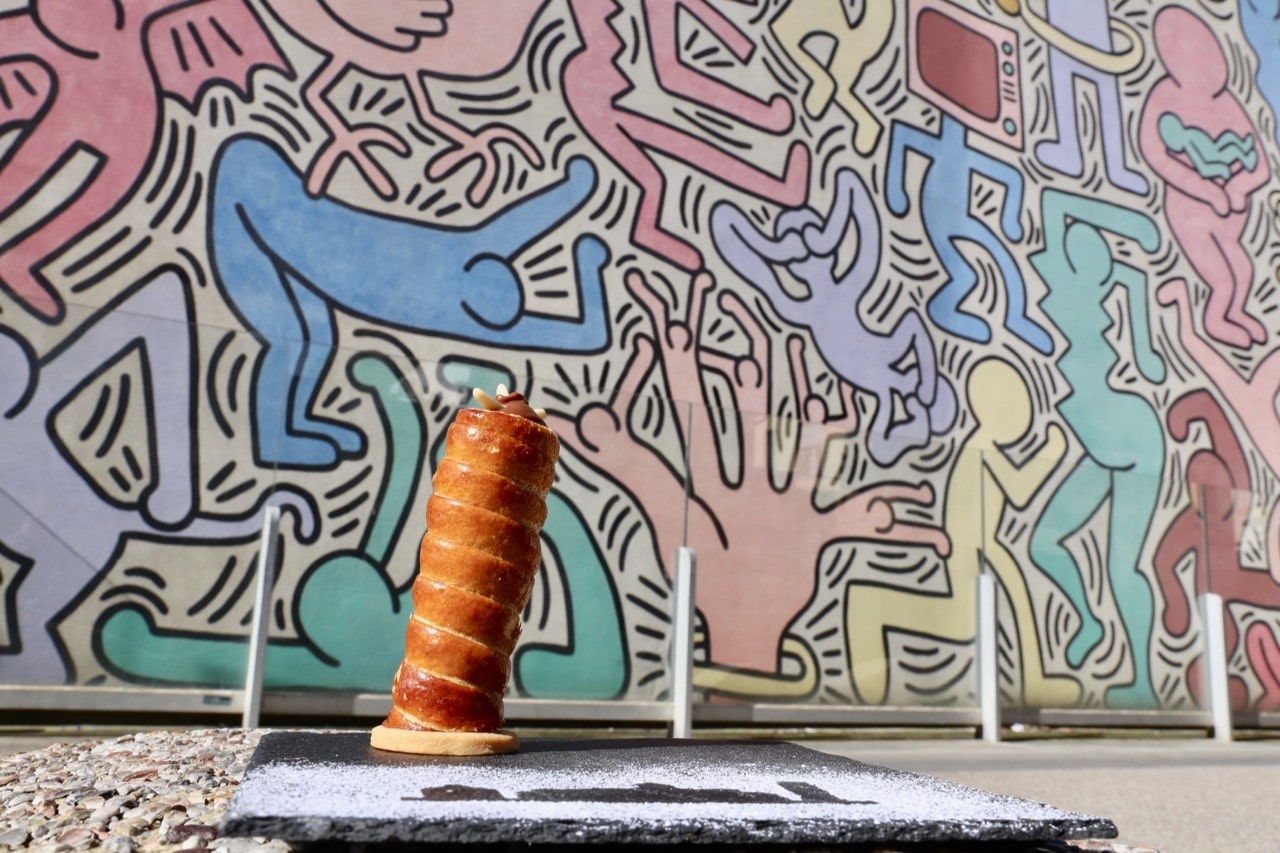 Dolce Pendente is a sweet pastry only available in Pisa. The dessert pays homage to the city's iconic leaning tower.
