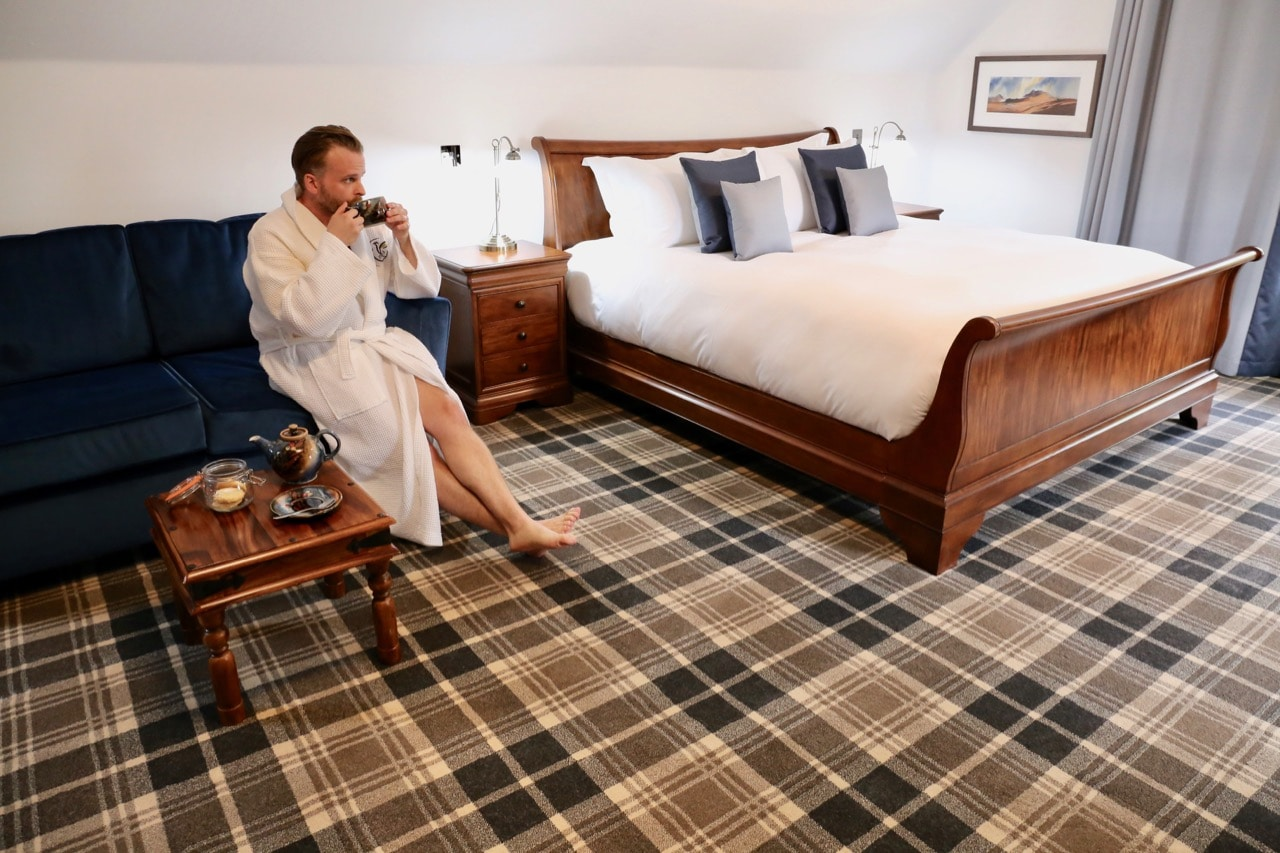 Things To Do in Skye: Book a luxurious suite at Edinbane Lodge.