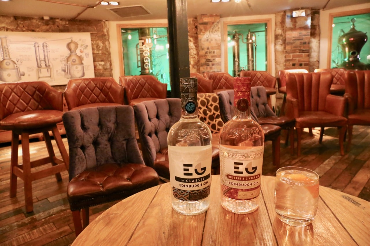 After 5pm Edinburgh's only gin distillery transforms into a cool cocktail bar.