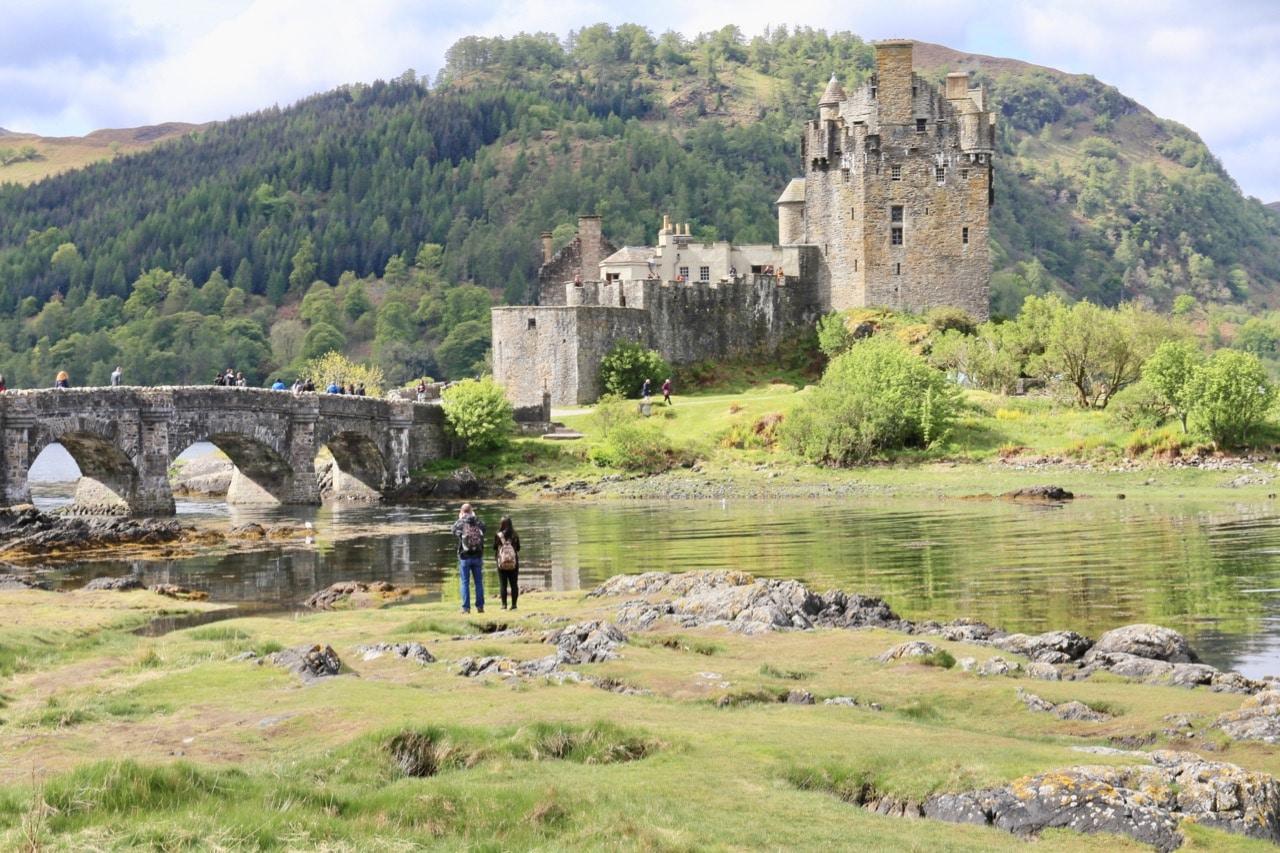 Eilean Donan Castle is one of Scotland's most romantic castles.