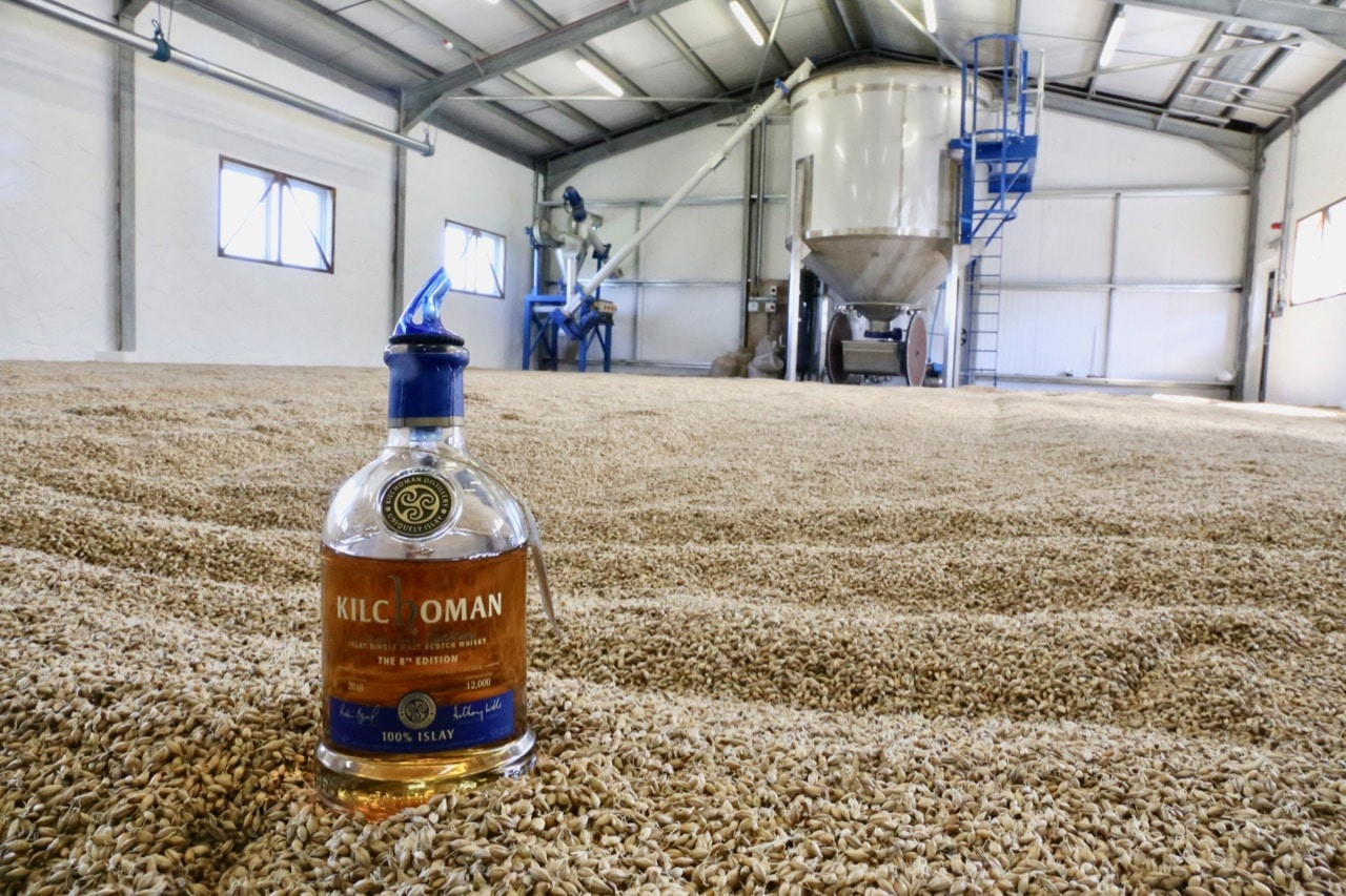Enjoy a single malt whisky tour at Kilchoman Distillery.