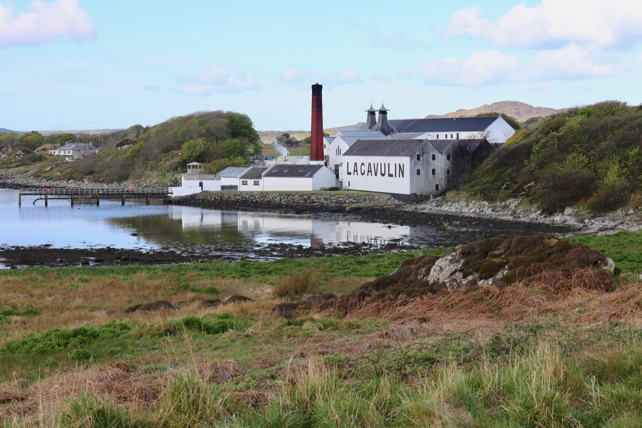 Of all the Islay Distilleries, Lagavulin may be the most picturesque.