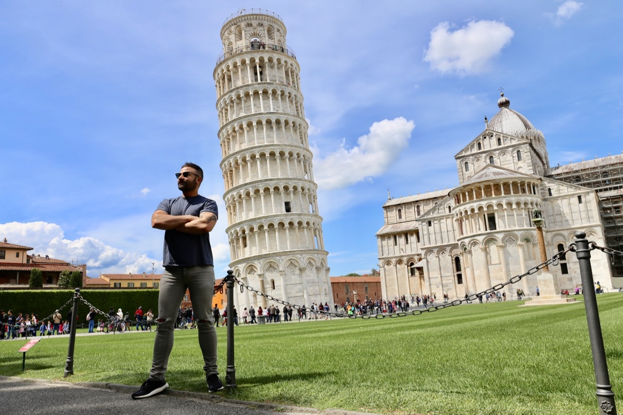 The Leaning Tower is the most photographed Pisa attraction.