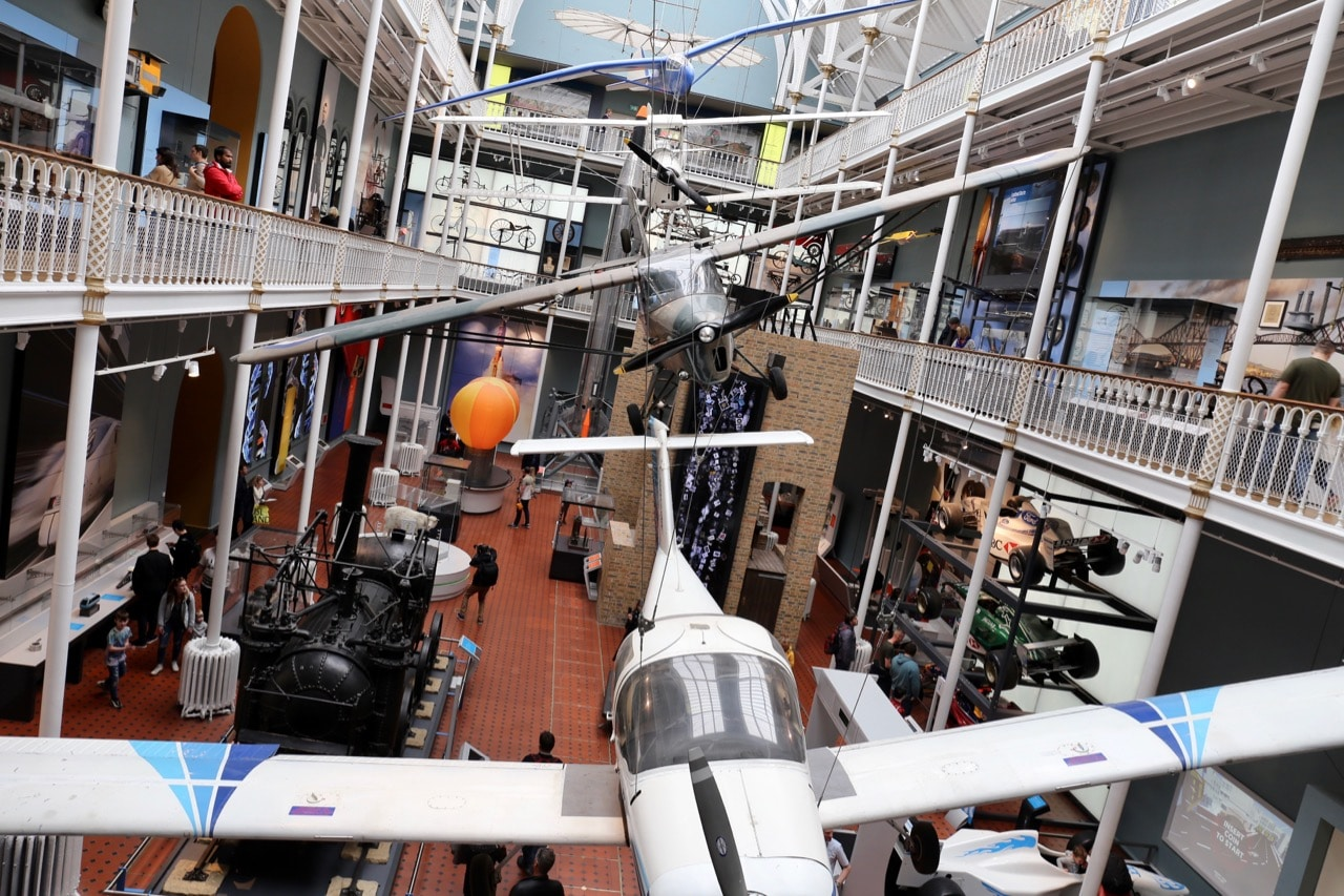 National Museum of Scotland opens its doors at night a few times a year to host special exhibitions and parties.
