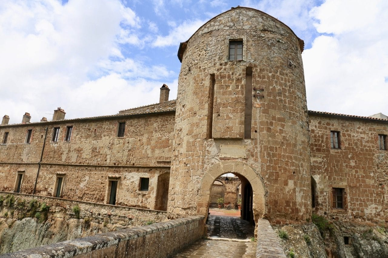 Sorano Italy's top attraction is the ancient Orsini Fortress.