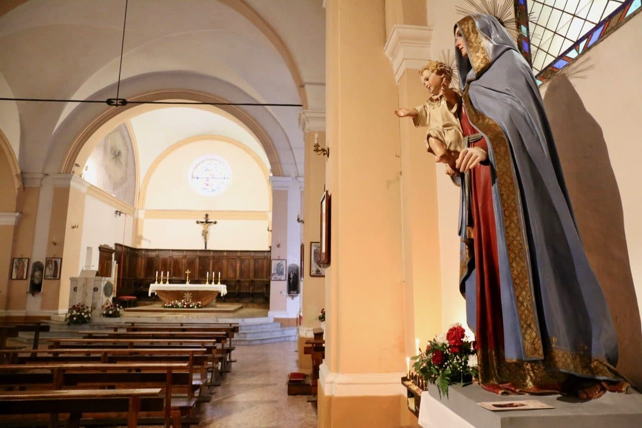 Parrocchina San Nicola is the Sorano Italy's main church.