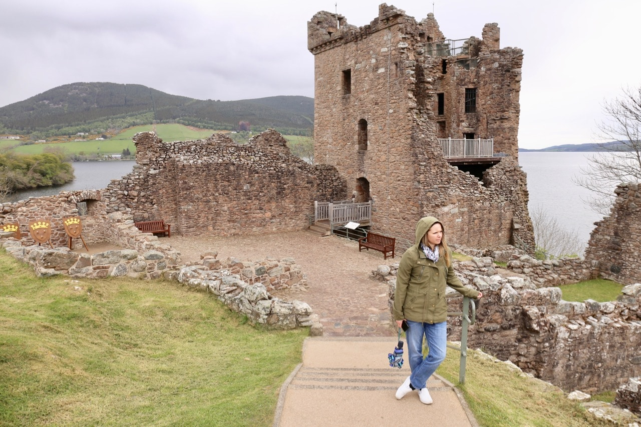 Search for the Loch Ness Monster at crumbling Urquhart Castle.