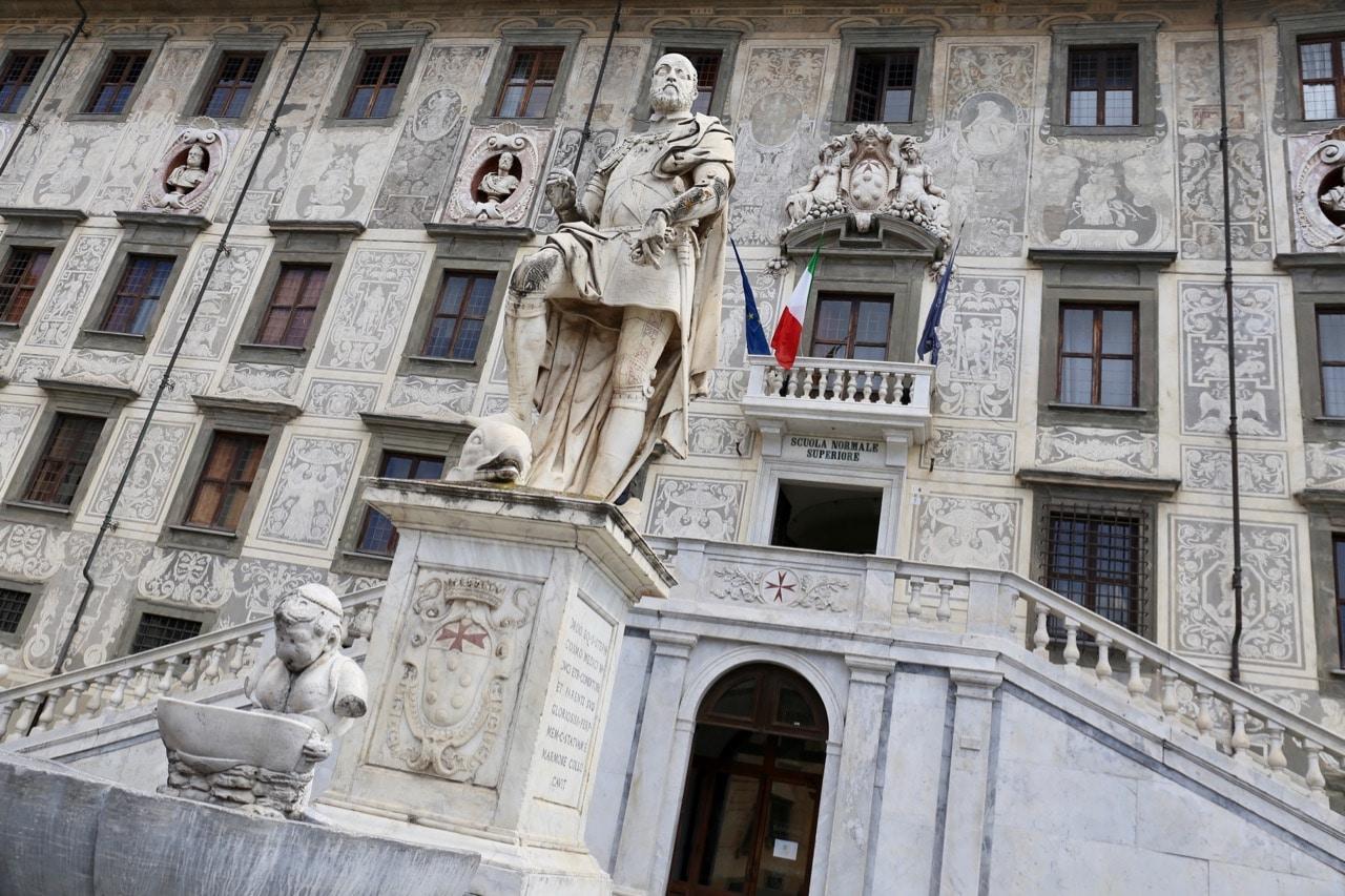 Pisa's prettiest square is Piazza dei Cavalieri.