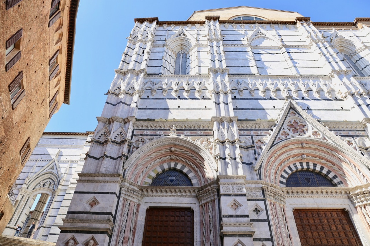 Things To Do in Siena: Explore the Baptistery near the Duomo.