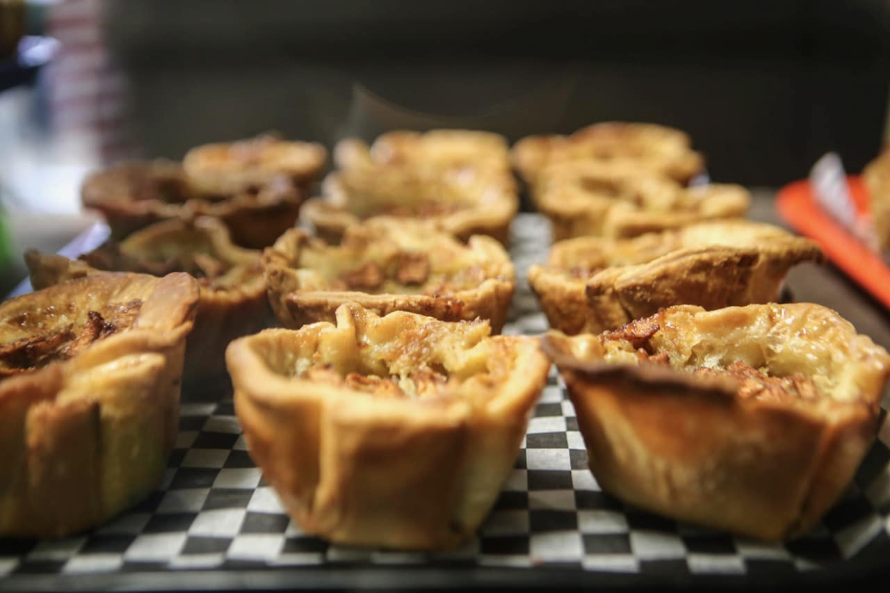 Butter Tarts fresh out of the oven at Madelyn's Diner.