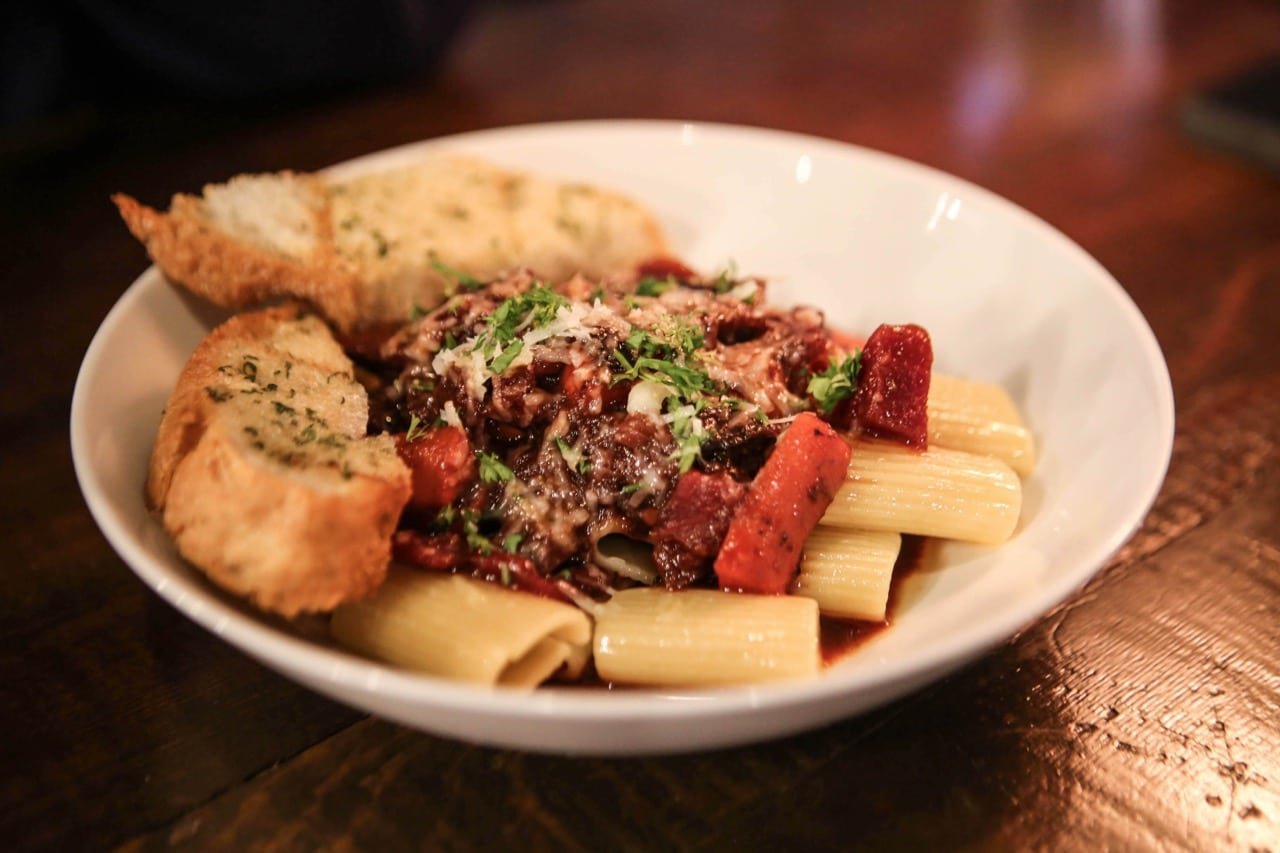 Stratford Restaurants: Venison Ragu at The Common.