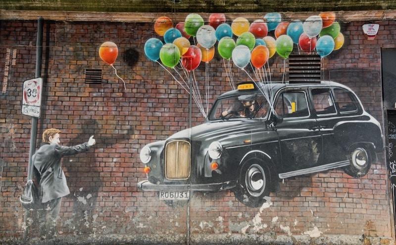 Graffiti fans enjoy exploring the Glasgow City Centre Mural Trail.
