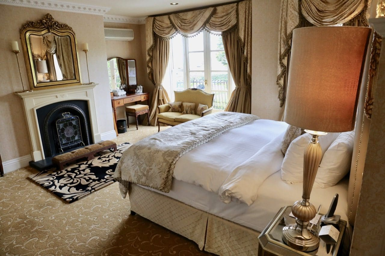 Things To Do in Cork: Sleep in a sweet suite at the luxurious Hayfield Manor.