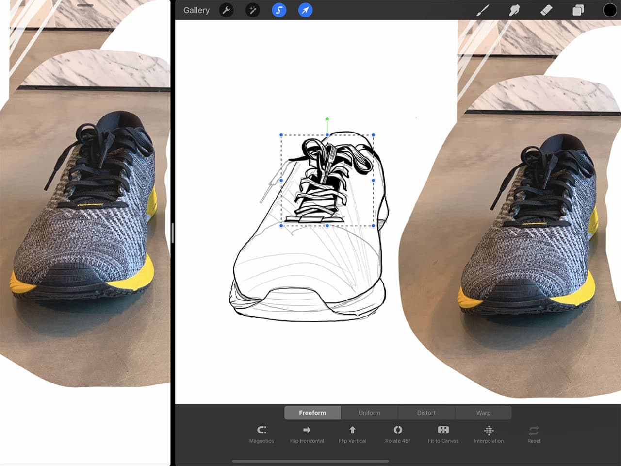 Procreate Tutorial: How To Draw Shoes | dobbernationLOVES