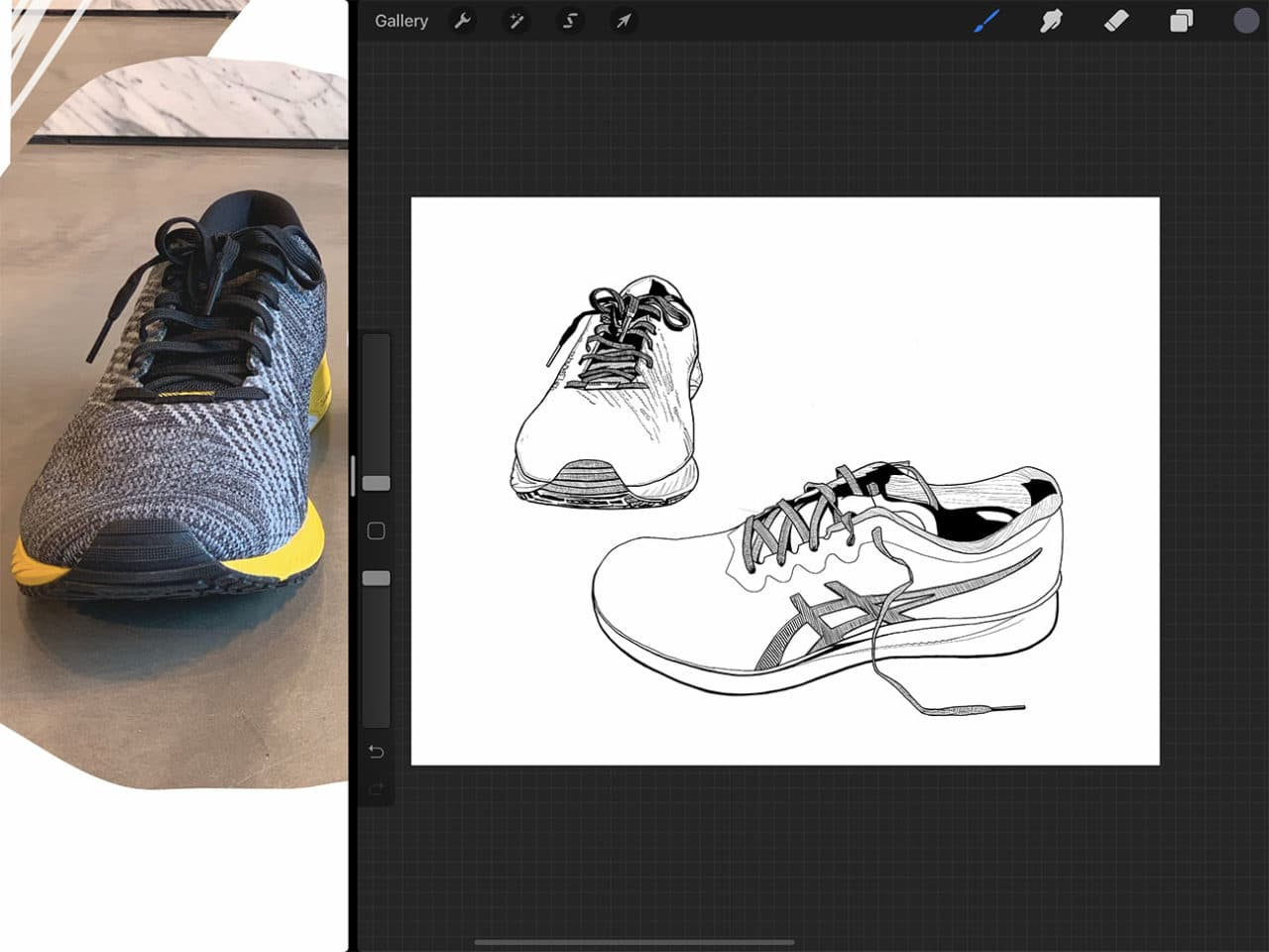 Procreate tutorial: capturing different textures is made easy with the Apple Pencil.