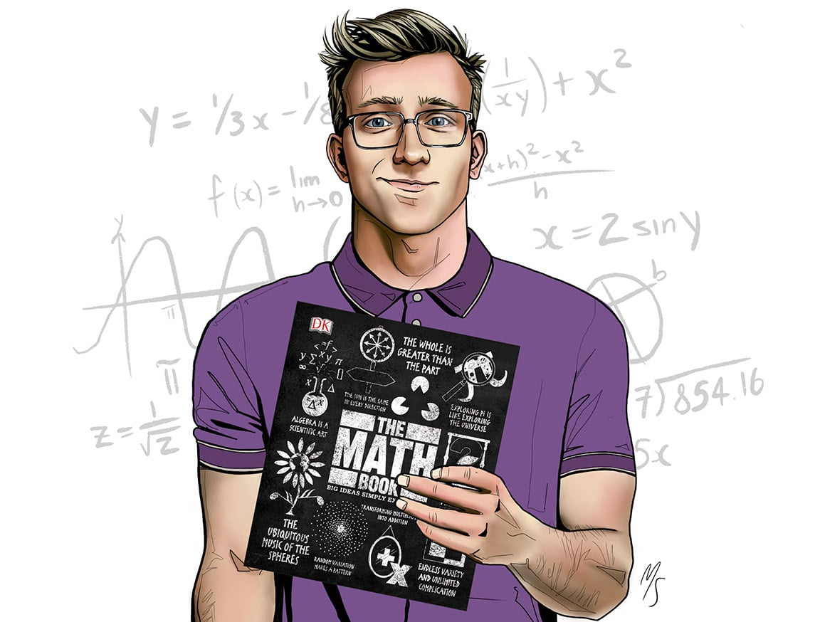 The Math Book: Big Ideas Simply Explained by DK Publishing.