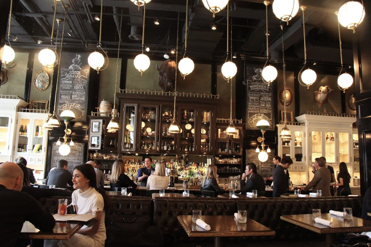 King West Restaurants: Weslodge is Toronto's favourite saloon.