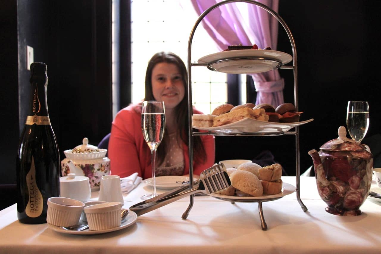 Enjoy High Tea at Windsor Arms Hotel in Yorkville with your girlfriends.