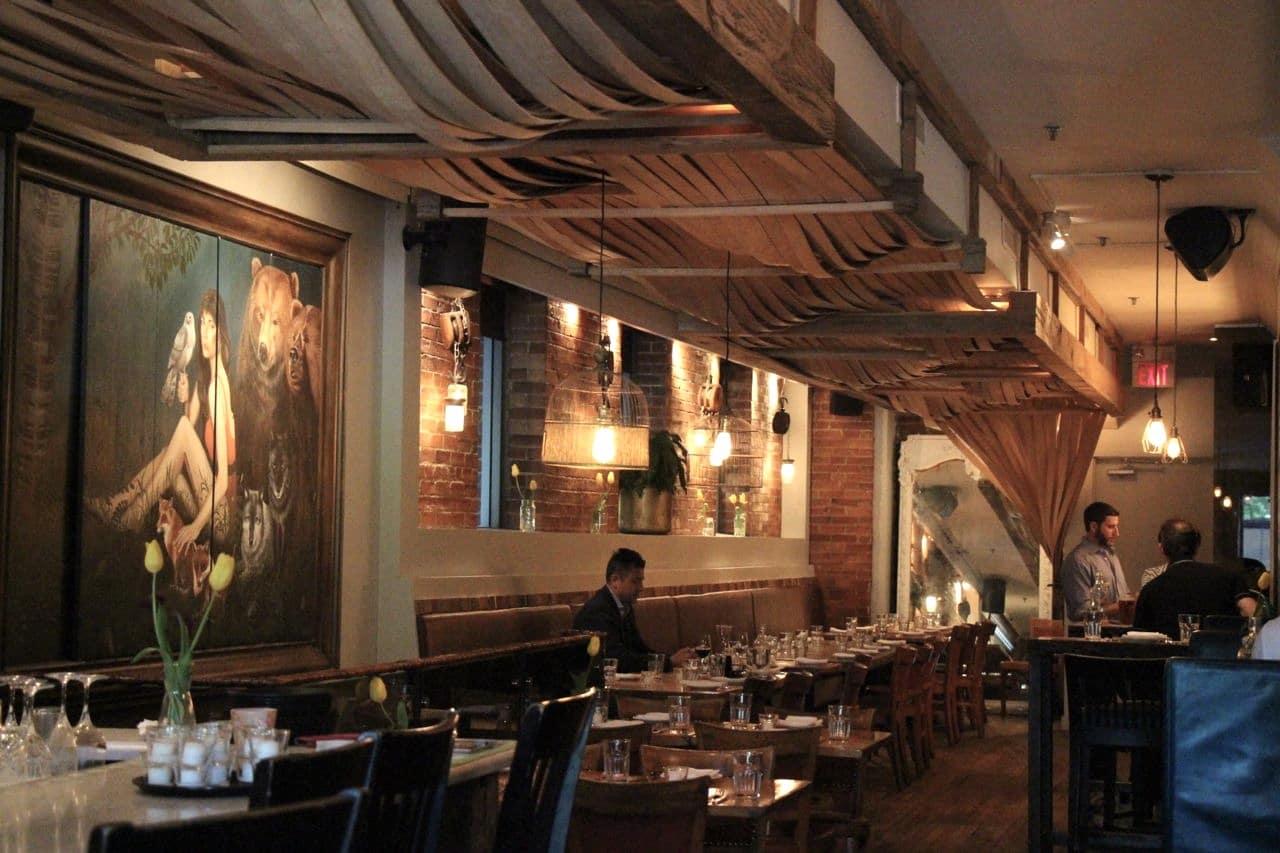 Marben is an award-winning restaurant on Wellington Ave.